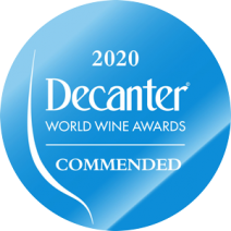 Decanter World Wine Awards Commended 2020